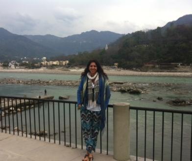 Ganj Nehri kıyısı-Rishikesh
