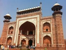 Taç Mahal Ana kapı-Agra