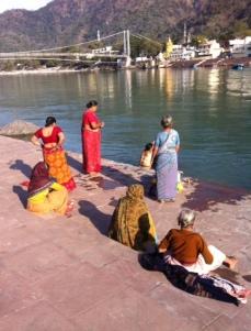 Ganj'ın şifalı sularıyla arınmak