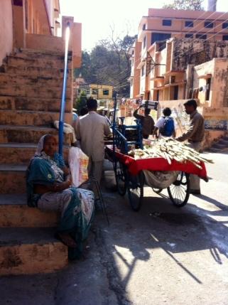 Rishikesh sokakları