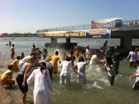 Ganj'da yıkanmak