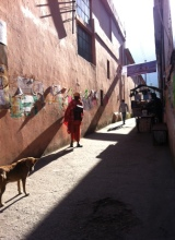 Rıshikesh sokakları